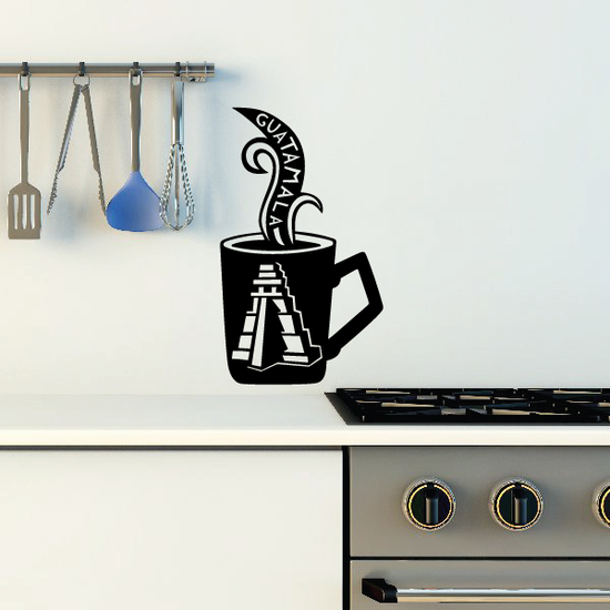 Guatamala Coffee Decal