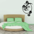 Swirly Vines on Sleeping Moon Decal