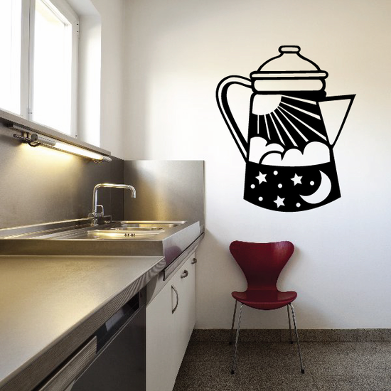 Expresso Maker Decal