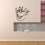 Grinning Pig Decal