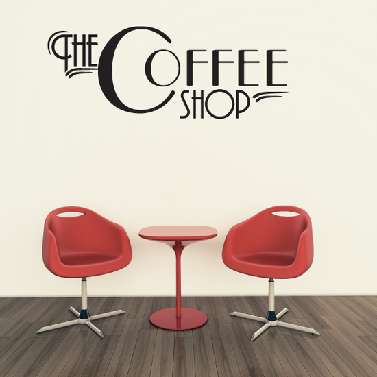 The Coffee Shop Decal