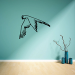 Flying Parrot Decal