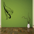 Parrot on Vine Decal