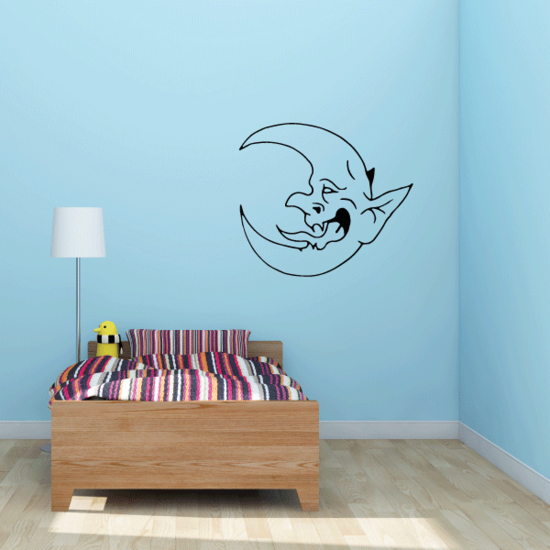 Fictious Moon Decal
