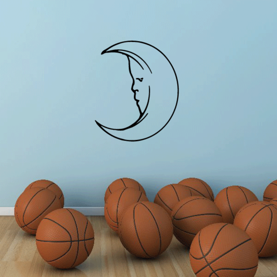Hollow Moon Decal