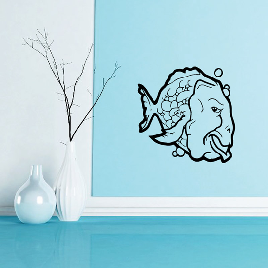 Fish Wall Decal - Vinyl Decal - Car Decal - DC294
