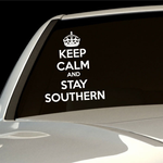 Keep Calm and Stay Southern Decal