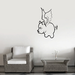 Flying Pig Decal