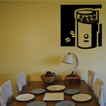 Electric Coffee Grinder Decal