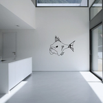 Fish Wall Decal - Vinyl Decal - Car Decal - DC297