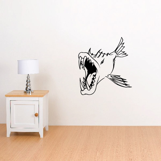 Fish Wall Decal - Vinyl Decal - Car Decal - DC298