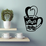 Cafe Lait Decal