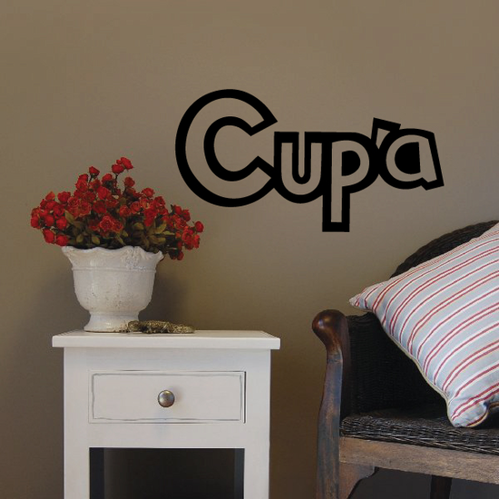 Cup'a Coffee Decal