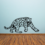 Leopard Growling Decal