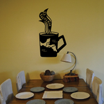El Salvador Coffee Decal