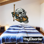 Anchor with Skull Sticker