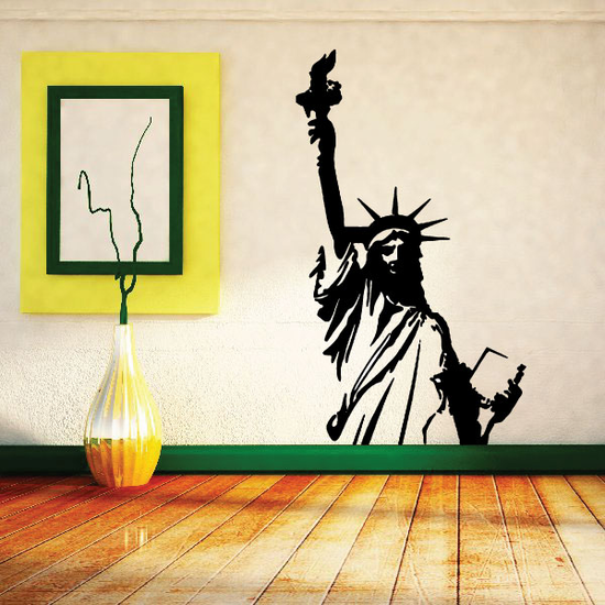 Statue of Liberty Half Decal