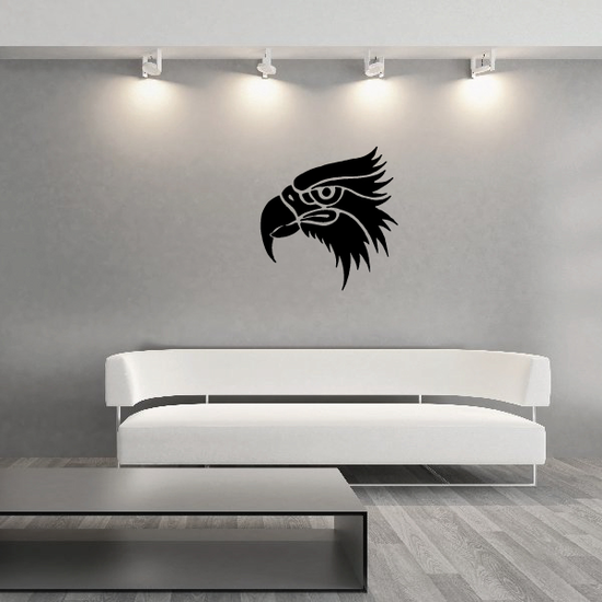 Watching Eagle Head Decal