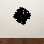 Noble Lion Head Decal