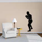 Fighting Boxer Decal