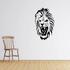 Roaring Lion Head Decal
