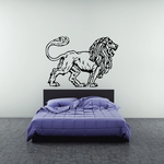 Majestic Lion Decal