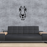 Lion Face Decal