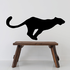 Sprinting Lioness Decal
