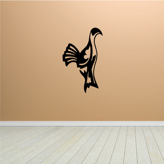 Fowl Looking Decal