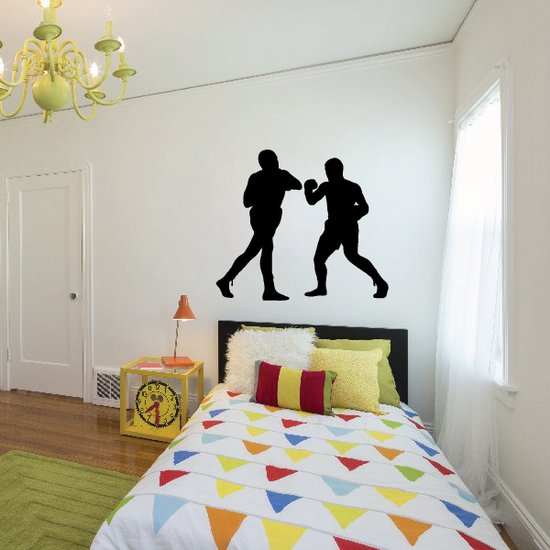 Boxing Wall Decal - Vinyl Decal - Car Decal - 002