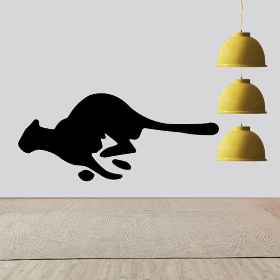 Running Lioness Decal