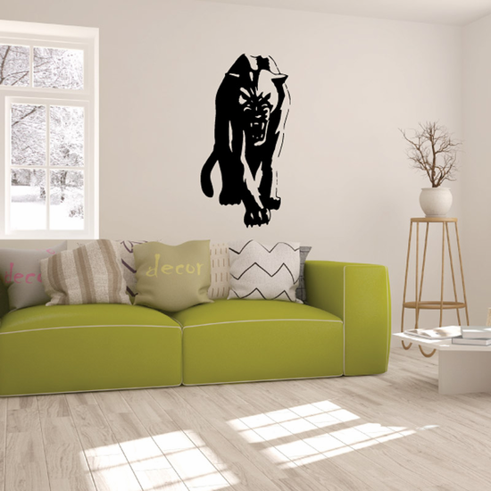 Prowling Panther Decal