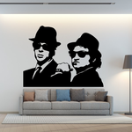 Blues Brothers Decal