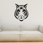 Intimidating Tiger Head Decal