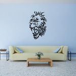 Lion in Pain Head Decal