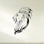 Magnificent Lion Head Decal