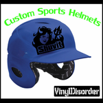 Customize your helmet with Any item number or your Custom Image.