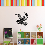 Feathered Golden Eagle Decal