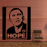 Barrack Obama Hope Decal