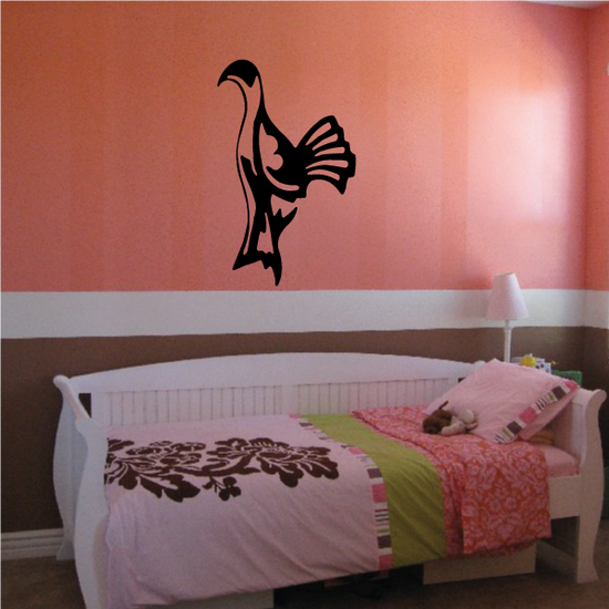 Fowl Watching Decal