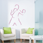 Boxing Wall Decal - Vinyl Sticker - Car Sticker - Die Cut Sticker - CDSCOLOR0035