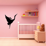Egret Flapping Decal