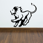 Chasing Lion Decal