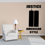 New York Twin Towers Decal