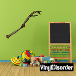 Skeleton Arm Bone Wall Decal - Vinyl Car Sticker - Uscolor001