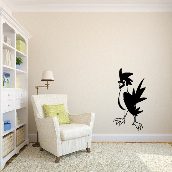 Cartoon Rooster Decal