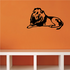 Relaxing Lion Decal