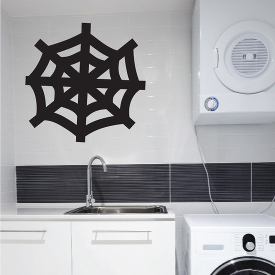 Basic Orb Spider Web Decal
