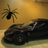 Simple Crawling Spider Decal