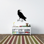 Cawing Raven Decal